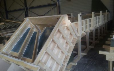 Asztalos segédmunka –  lépcső keretszerkezet készítés